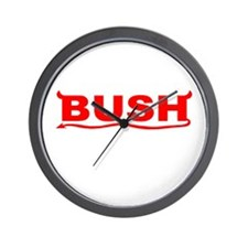BUSH is the DEVIL Wall Clock