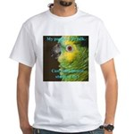 Blue-fronted Amazon White T-Shirt