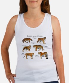 Tigers of the World Women's Tank Top