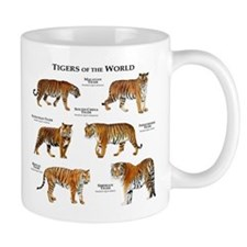 Tigers of the World Mug