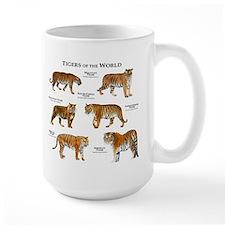 Tigers of the World Mug