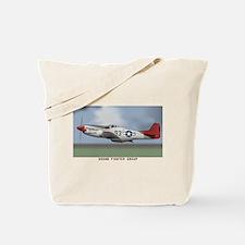 P51D_redtail Tote Bag