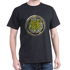 Hazel Celtic Greenman Pentacle T-Shirt