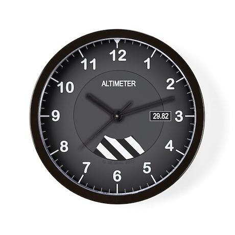 Aviation Style Clock Wall Clock