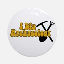 Archaeology Ornament (Round)