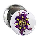 "Malachi Crest Flourish 2.25"" Button (10 pack)"