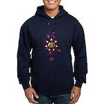 Malachi Crest Flourish Hoodie (dark)