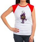 Malachi Crest Flourish Women's Cap Sleeve T-Shirt