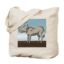 Lonely Warthog Tote Bag