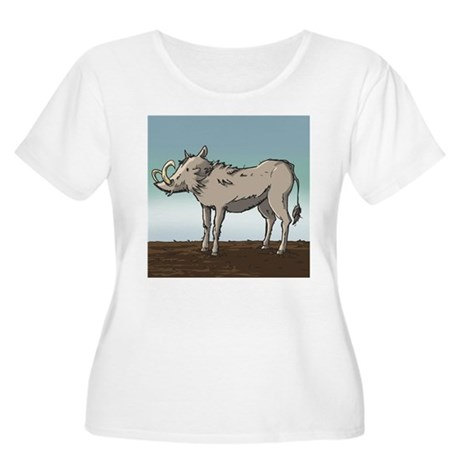 Lonely Warthog Women's Plus Size Scoop Neck T-Shir