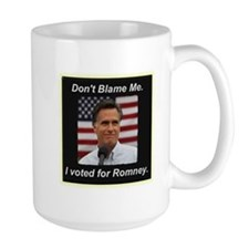 I Voted For Romney Mug