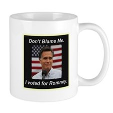 I Voted For Romney Mug