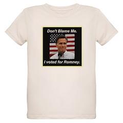I Voted For Romney T-Shirt