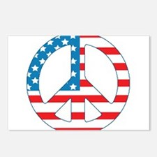 4th July Peace Postcards (Package of 8)