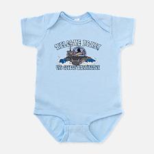 Welcome Home! CVN-73 Infant Bodysuit