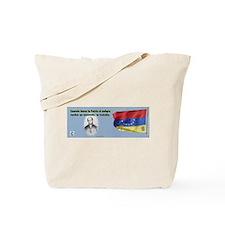 Patria en Peligro Tote Bag