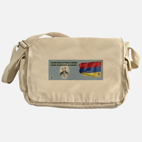 Patria en Peligro Messenger Bag