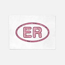 ER Pink 5'x7'Area Rug