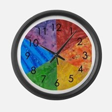 Cute School kid Large Wall Clock