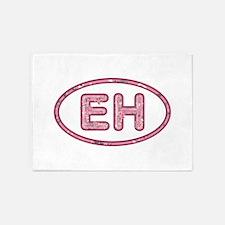 EH Pink 5'x7'Area Rug