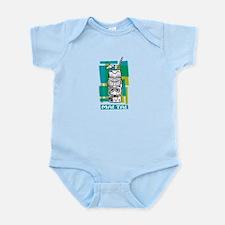 Mai Tai Tiki Cocktail Infant Bodysuit