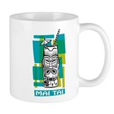Mai Tai Tiki Cocktail Small Mug