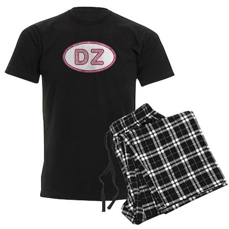 DZ Pink Men's Dark Pajamas