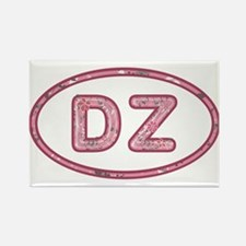 DZ Pink Rectangle Magnet