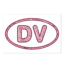DV Pink Postcards (Package of 8)