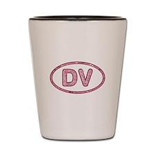 DV Pink Shot Glass