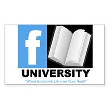 FBOOK UNIVERSITY Items Decal