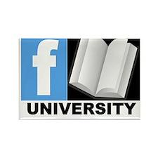 FBOOK UNIVERSITY Items Rectangle Magnet