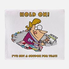 HOLD ON! Throw Blanket