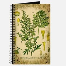 Absinthe Botanical Illustration Journal