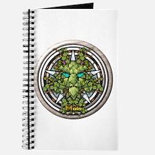 Vine Celtic Greenman Pentacle Journal