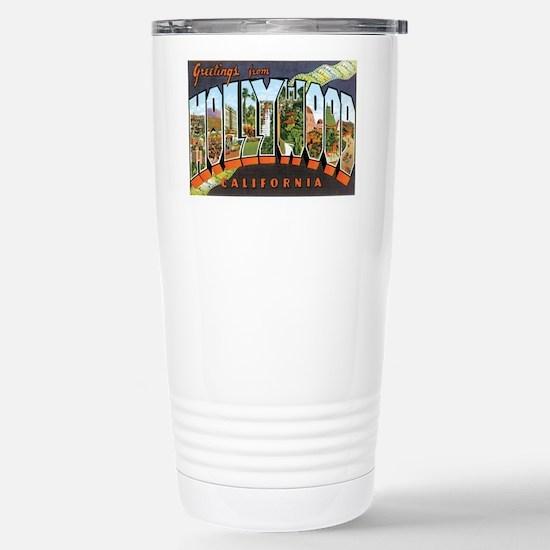 Hollywood California Mugs
