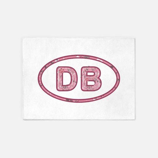 DB Pink 5'x7'Area Rug