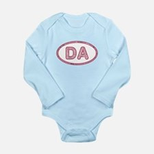 DA Pink Long Sleeve Infant Bodysuit