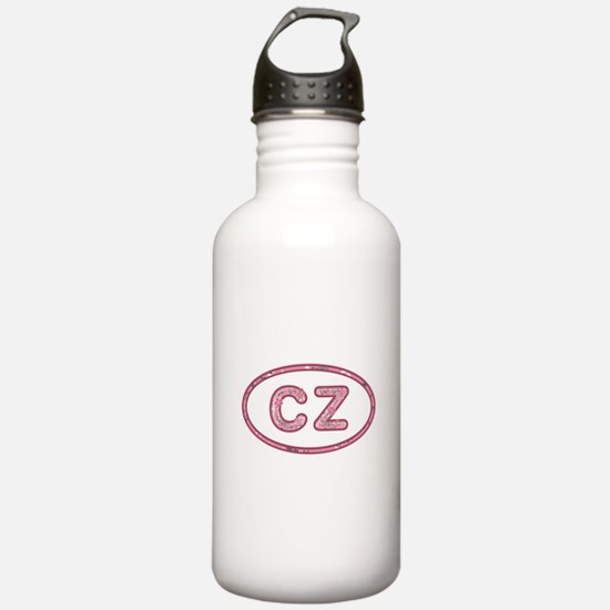 CZ Pink Water Bottle