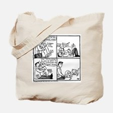 Welcome Home Daddy! Tote Bag