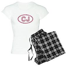 CJ Pink pajamas