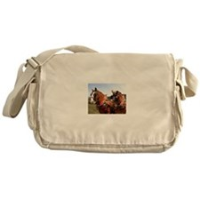 Belgian Horse Messenger Bag