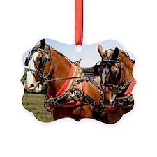 Belgian Horse Ornament