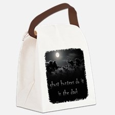 in the dark Canvas Lunch Bag