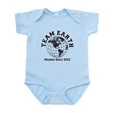 Team Earth : Member Since 2013 Infant Bodysuit