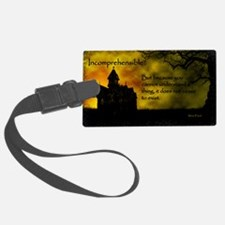 Incomprehensible - scattered Luggage Tag
