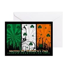 Modern Saint Patrick's Day Cards (Pk of 20)