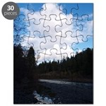 Eel River with Clouds Puzzle