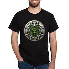 Ivy Celtic Greenman Pentacle T-Shirt