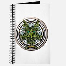Ivy Celtic Greenman Pentacle Journal